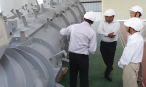 Draft Tube of 15 MW Horizontal Francis Turbine